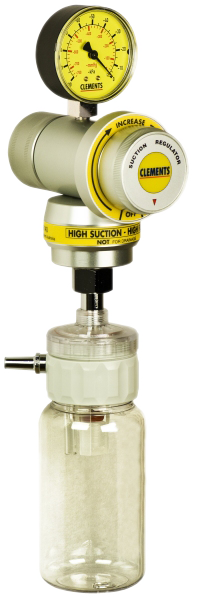 High Vacuum / High Flow Regulator