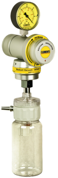 Medium Vacuum / High Flow Infant Regulator