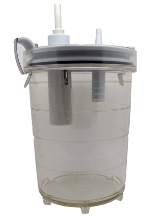 2L Reusable Suction Canister for Mobile Pumps